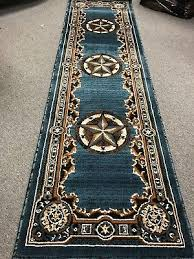 texas star western lodge rustic turquoise area rug quick