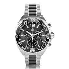 tag heuer formula 1 watches the watch gallery® tag heuer formula 1 quartz steel and ceramic grey dial mens watch caz1111 ba0878