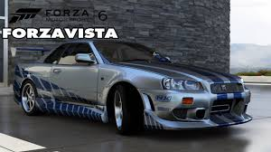 nissan skyline fast and furious 6. forza motorsport 6 nissan skyline gtr fast u0026 furious edition forzavista gameplay youtube and