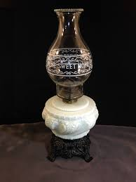 oil lamp beautiful white milk glass swirling and 50 similar items s l1600