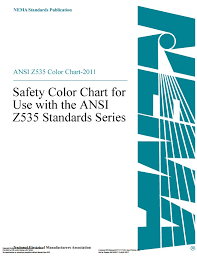 Fed Std 595b Color Chart Ansi Z535 Color Chart Safety Color Chart Obsolete See