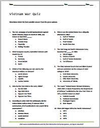 vietnam war quiz to print pdf file features ten multiple vietnam war quiz to print pdf file features ten multiple