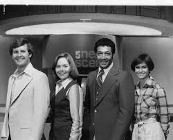 Bill Hartman, Sharon Summers, Ken Roberts, & Virginia Gunn - WAGA Channel 5  in the late 70's - early 80's   Classic television, Good times, Talk show