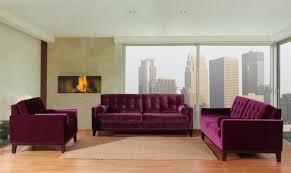 Velvet Living Room Furniture Purple Living Room Furniture
