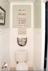 wall mounted basket toilet paper storage