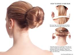 How To Make A Hair Style hairbun instruktion medium hair styles ideas 47480 2217 by wearticles.com
