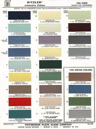 Ford Falcon Colour Chart Ford Paint Colors 2017 Ototrends Net