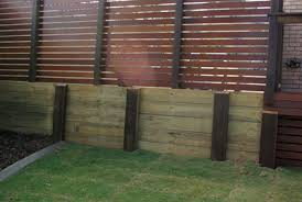 Small Picture iLandscape Products Treated Pine Sleeper Timber Wall