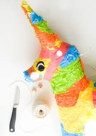 pull string piñata diy one little minute blog 15
