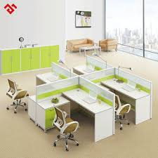 modern office cubicles. Factory Outlet 4 Sections Modern Office Cubicles I