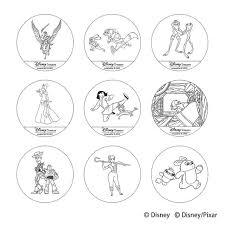 盤面裏側にキャラクターアートを刻印ケイウノ ディズニーデザイン