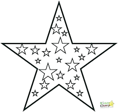 Coloring Pages Star Cowboys Logo Page Free Cute Starbucks