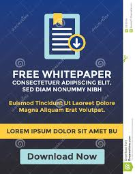 Free White Paper Template Free Whitepaper Or Ebook Download Cta Template W Replaceable