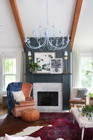 layered living room reveal fireplace accent wallstile