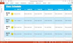 Sample Schedules Class Schedule Best Create A Schedule Template Goseqhtk
