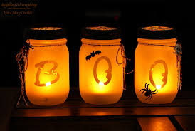 How To Use Mason Jars For Decorating 100 Wicked Ways to Use Mason Jars This Halloween Alphabet 36