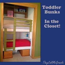 Diy Toddler Loft Bed Diy Unique Built In Bunk Beds They Call Me Granola