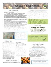 october newsletter ideas newsletters parry sound area food collaborative