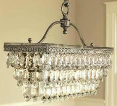 pottery barn clarissa chandelier installation new glass knock off