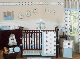 contemporary baby furniture. Bedding Sets Sweet Jojo Designs Image - Contemporary Blue And Brown Modern Polka Dot Boy Or Baby Furniture N