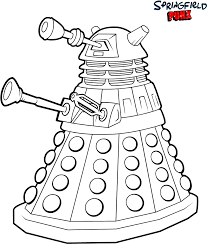 dr who coloring pages. Doctor Who Coloring Pages Printable Sheet Intended Dr