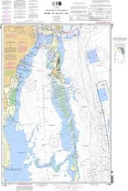 Noaa Intracoastal Waterway Charts Noaa Nautical Chart 11465 Intracoastal Waterway Miami To