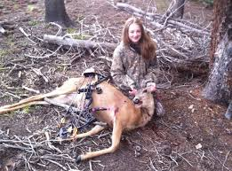 colorado hunting leadville today leadville hunter ashley mcnicolas poses the doe she harvested during s archery season photo