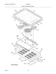 parts for frigidaire fec30s6abf cooktop appliancepartspros com Frigidaire Dishwasher Schematic Diagram at Frigidaire Model Number Fec30s6asc Wire Diagram