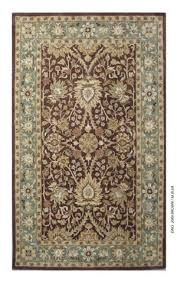 safavieh antiquities at249d chocolate blue area rug