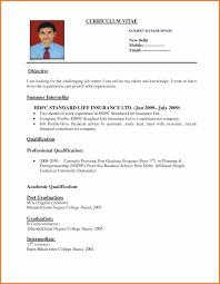 Sample Resume For Freshers Bcom Graduate Doc Beautiful B Resume