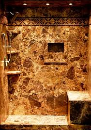 image of granite shower wall panels