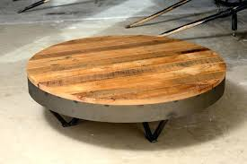 round wood and metal side table coffee tables round metal coffee table with storage large marble round wood and metal side table