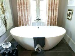 4 ft bathtub shower combo bathroom small freestanding tub corner interior home design foot curved curtain
