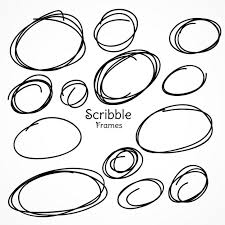 set of circular scribbles_1017 7095 circle vectors, photos and psd files free download on 2 1 2 round label template for photoshop