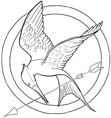 Small Picture How to Draw the Hunger Games Logo aka The Mockingjay Pin How to