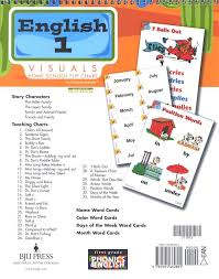 Phonics Generalizations Chart Bju English Grade 1 Homeschool Visual Flipchart