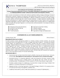 Excellent Architect Resume Template With Kevin A Thompson And