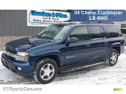 2004 Chevrolet TrailBlazer EXT LS 4x4 in Indigo Blue Metallic ...