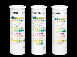 Roche Chemstrip 10 Color Chart Chemstrip Test Strips