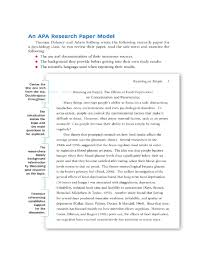 sample title the top 10 best blogs on sample apa research paper title page