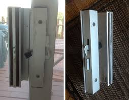 user submitted photos of a patio door handle