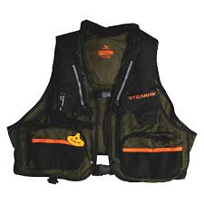 Stearns 2000013814 33 Gram Fishing Green Inflatable Life Jacket