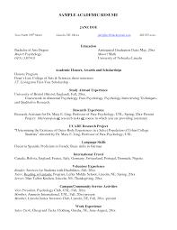Resume College Major Therpgmovie