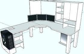 corner desk plans. Brilliant Corner Free Corner Desk Plans Computer  Woodworking  On Corner Desk Plans N