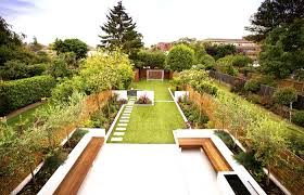 Small Picture Wonderful Garden Design For Large Gardens And Decorating
