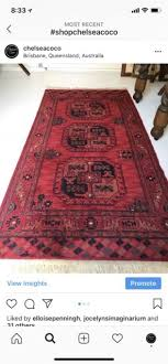 persian hand knotted red rug rugs carpets gumtree australia brisbane north west paddington 1191573804