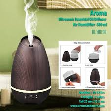 aroma ultrasonic essential oil diffuser air humidifier 500 ml wood grain design applicated hotel bedroom coffee lobby office restaurant