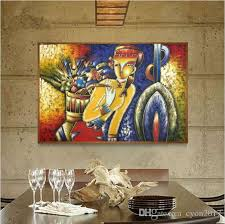 2018 famous paintings picasso abstract oil painting the flower girl wall art decoration picture hand painted on canvas from cyon2017 82 3 dhgate com on famous paintings wall art with 2018 famous paintings picasso abstract oil painting the flower girl