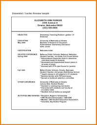 Biodata For Teaching Job Project Proposal Word Template Reference