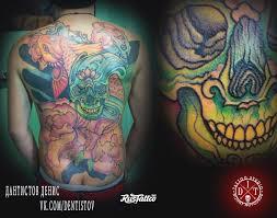 череп значение татуировок в россии Rustattooru